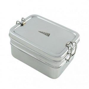 two-tier-rectangle-lunch-box-with-mini-container-stainless-steel