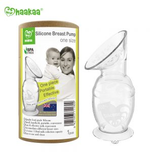 haakaa breast pump with suction base