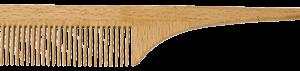 redecker wooden comb with handle