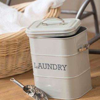 laundry powder tin cream
