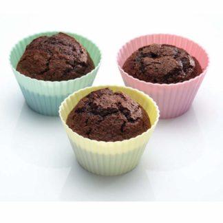 reusable silicone muffin case