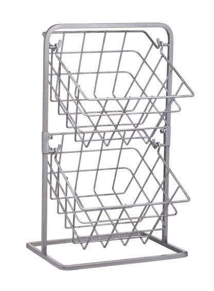 two tier storage basket