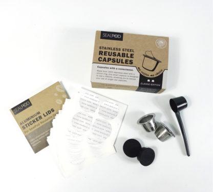 reusable nespresso pod
