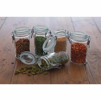 mini clip top jars